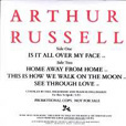 Arthur Russell Is It All Over My Face?