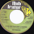 Dave Robinson If You Give To Me (Ruby And Diamond)